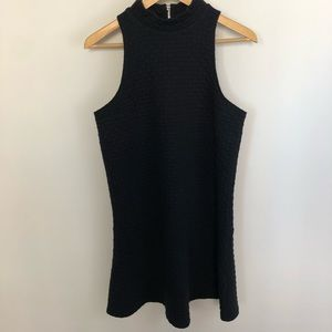 Abercrombie & Fitch | Black Quilted Dress